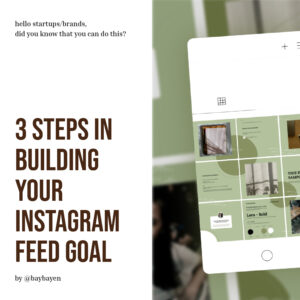 building your instagram feed