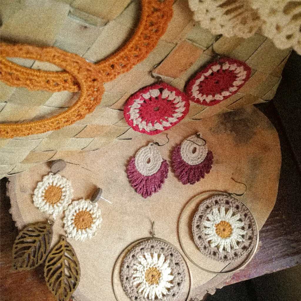 Baybayen Hikaw Collection consists of various earrings crafted in Cebu, Philippines